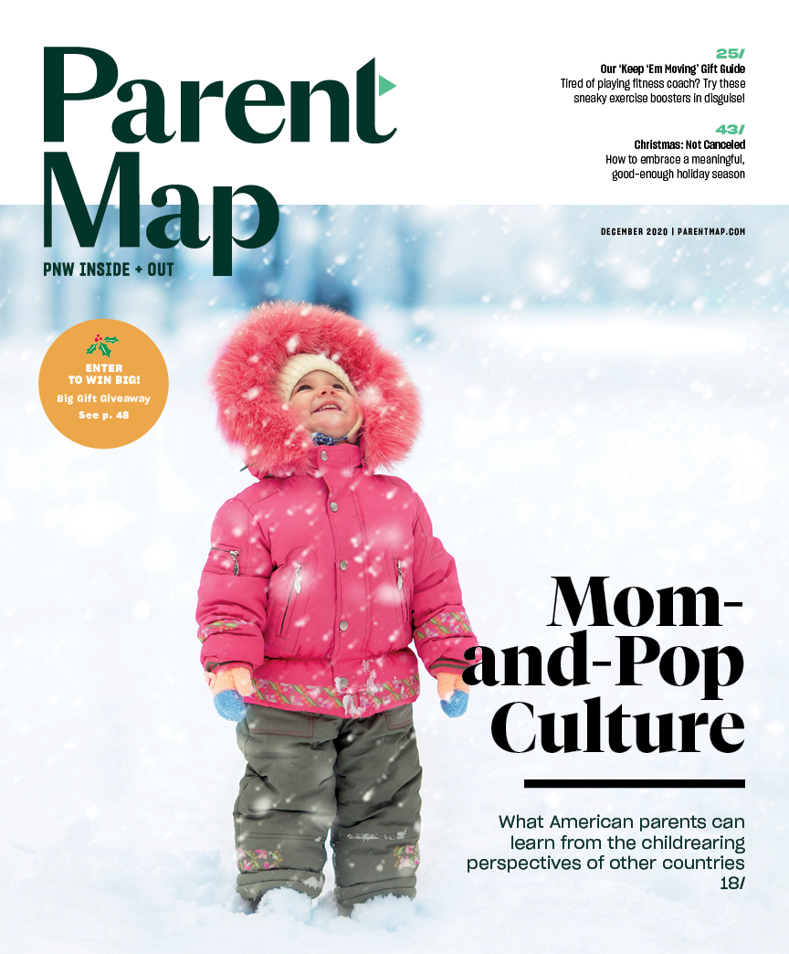 December 2020 ParentMap Magazine Cover