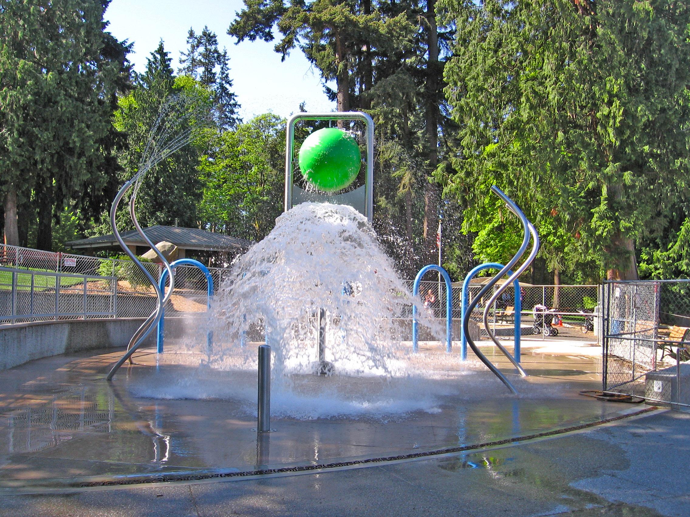 Hazel Miller Spray Park Opening Seattle Area Family Fun