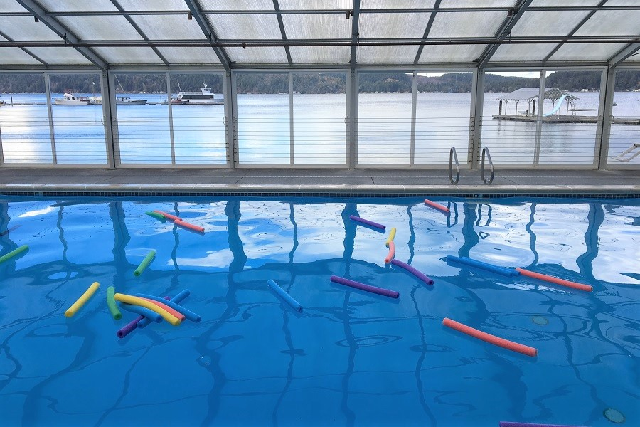 Alderbrook swimming pool for families