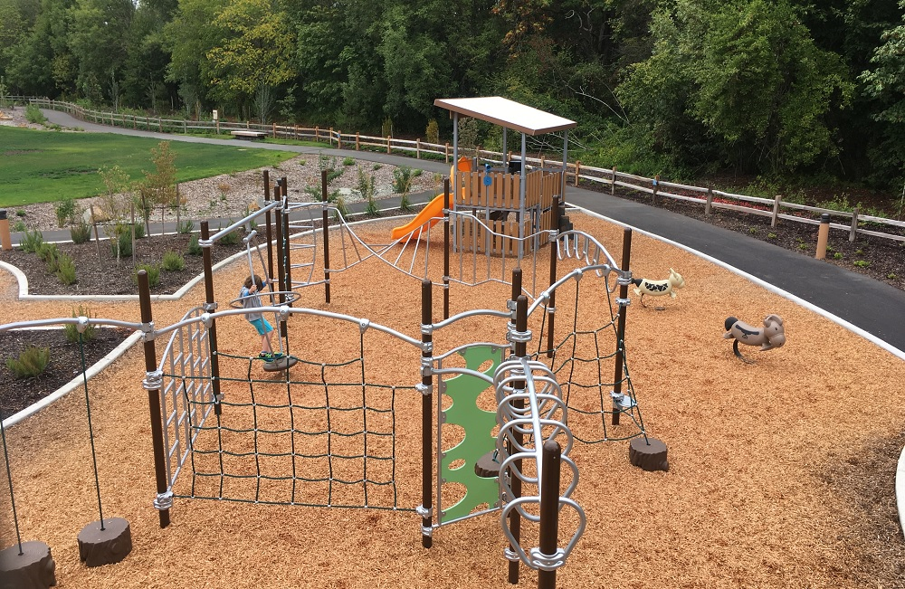 Brookville garden park play structure