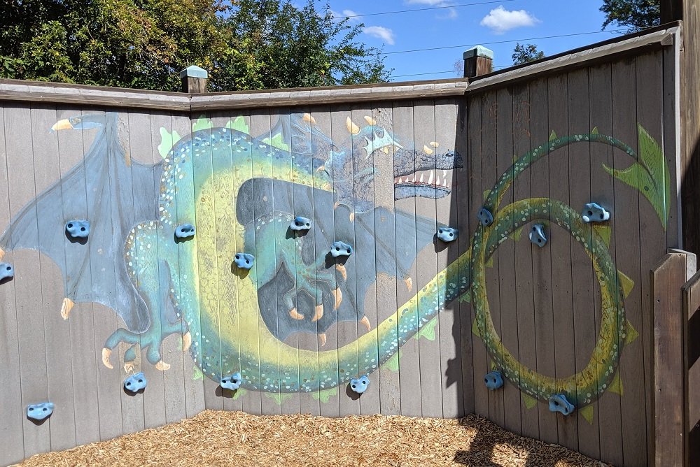 Dragon-climbing-wall-Castle-Park-best-magical-eastside-playground