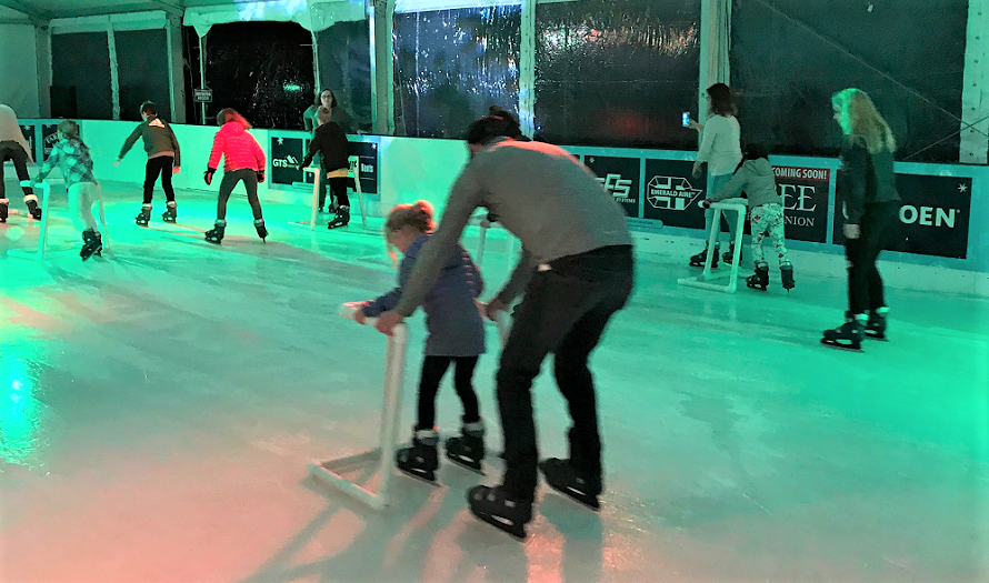 Frozen-fountain-tacoma-winter-ice-skating-kids-families-point-ruston