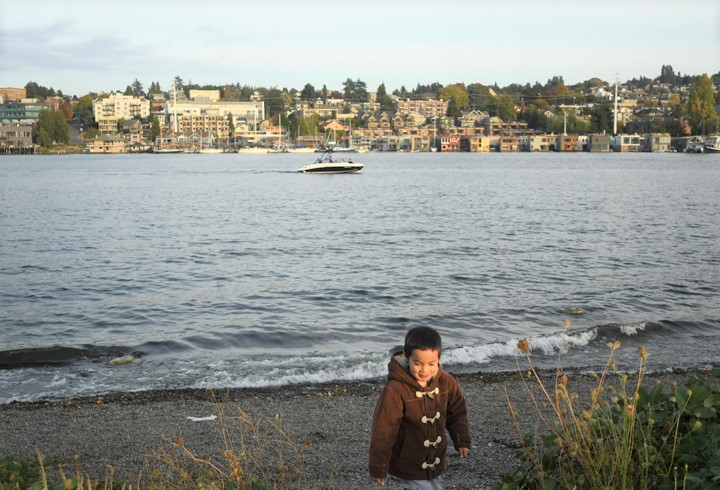 Gas Works Park shoreline