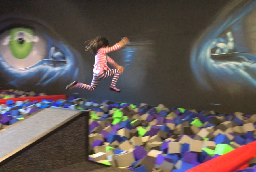 Banish The Wiggles At Seattle S New Indoor Trampoline Park