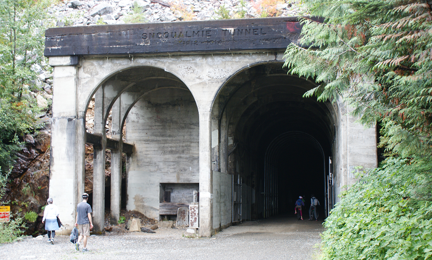 West end portal to the Snoqualmie Tunnel