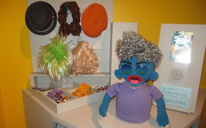 """Anything Muppet"" creation station. Credit: Nancy Chaney"