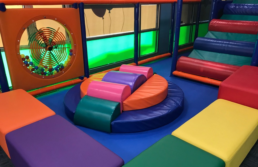 Kidz Happy Hour Bonney Lake cushioned play area