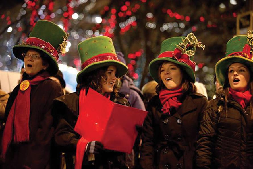 Great Figgy Pudding Caroling Competition