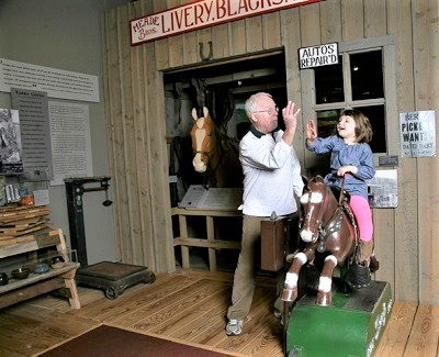 Sandy-ride-on-horse-toy-White-River-Valley-Museum