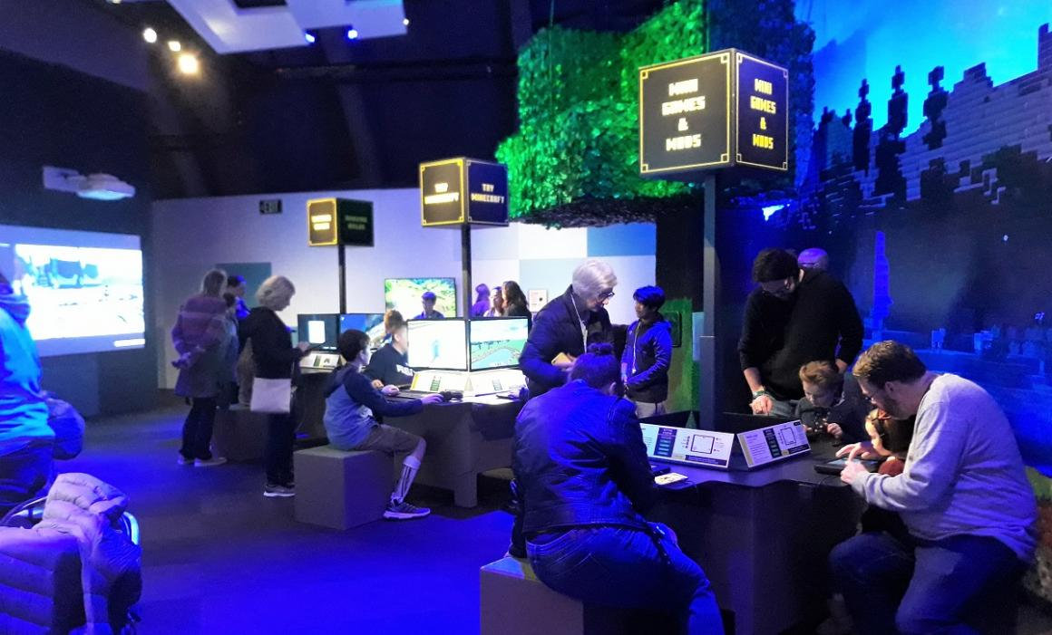 Gaming-stations-Minecraft-the-exhibition-mopop-kids-worth-the-price