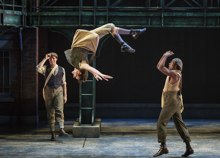 Newsies-dancing