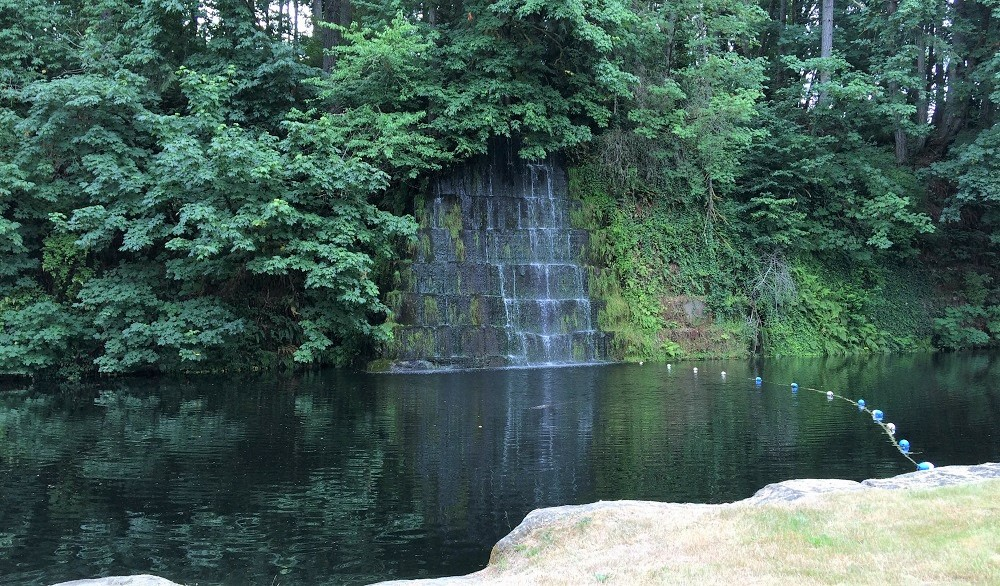 tenino quarry pool deep side