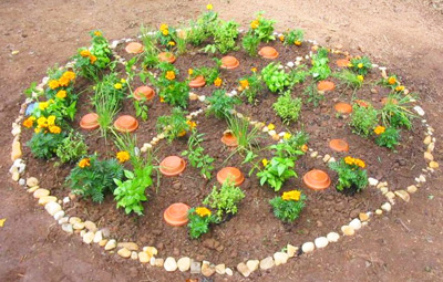 Kids Garden Ideas 51 budget backyard diys that are borderline genius Pizza Planting Party