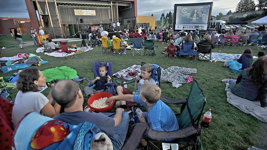 Summer Bash Movies in the Park