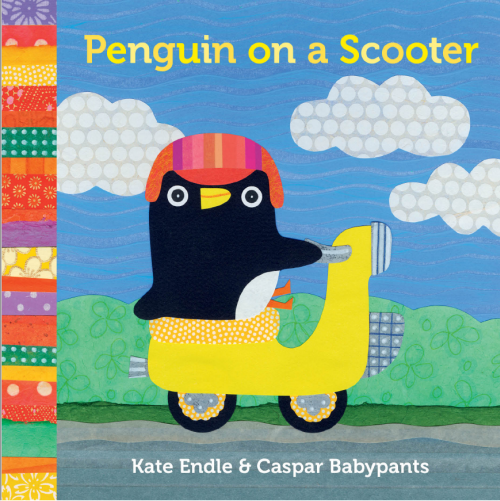 Caspar Babypants Penguin on a Scooter