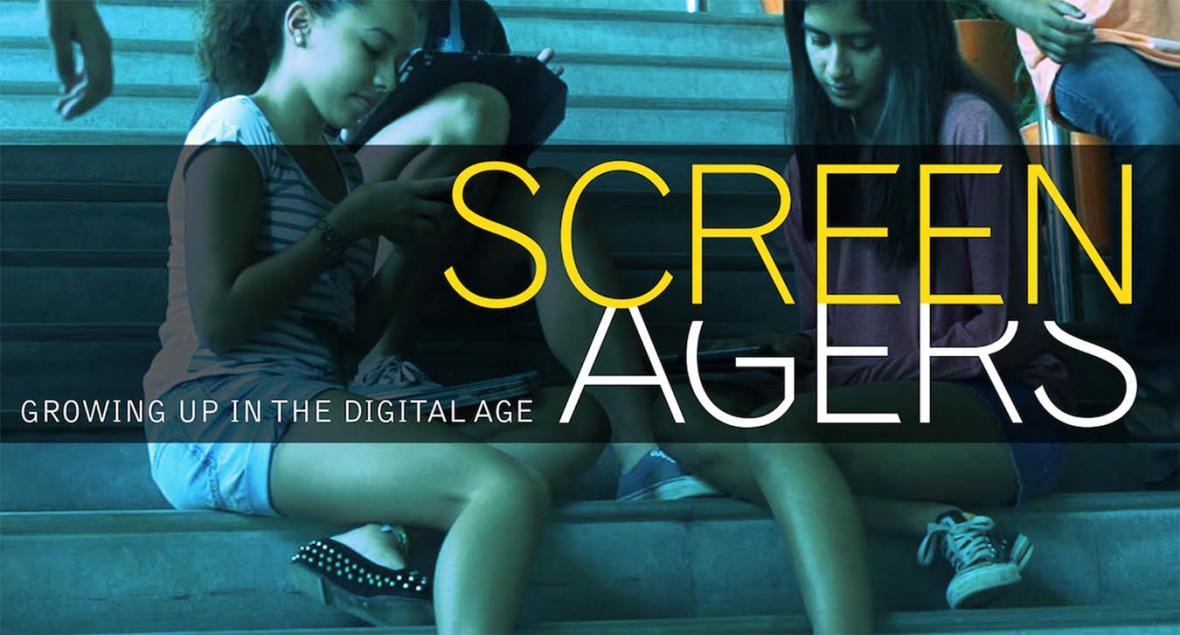 Promotional poster for 'Screenagers'