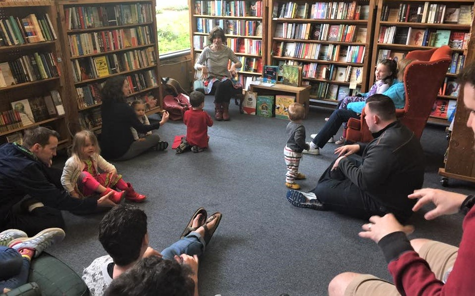 Island Books' storybook corner story time for families