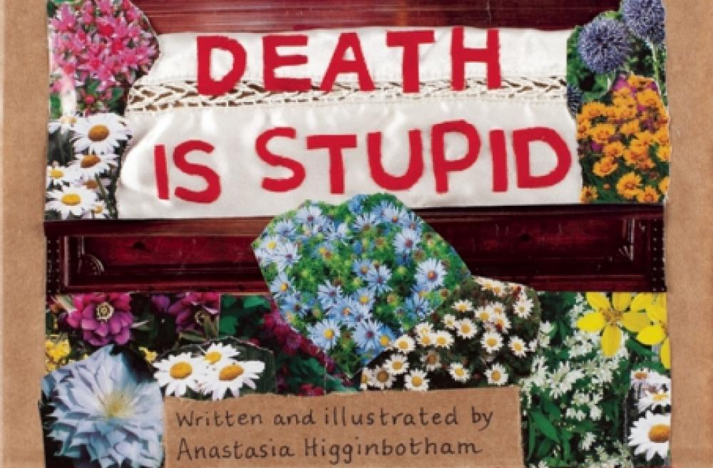 """Death Is Stupid"" book cover"