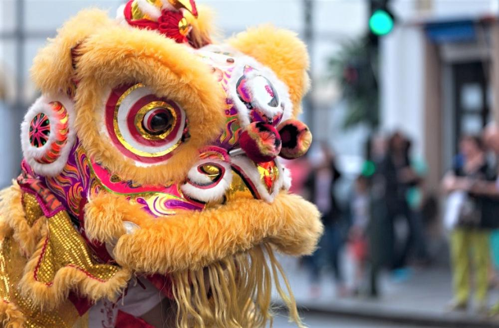 Lion dance at Lunar New Year 2020 events for families around Seattle, Bellevue and Tacoma