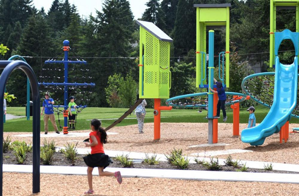 Surrey-Downs-new-park-playground-bellevue-eastside