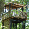 Mercer Slough lookout tower