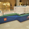 Lego Americana Roadshow model in Bellevue