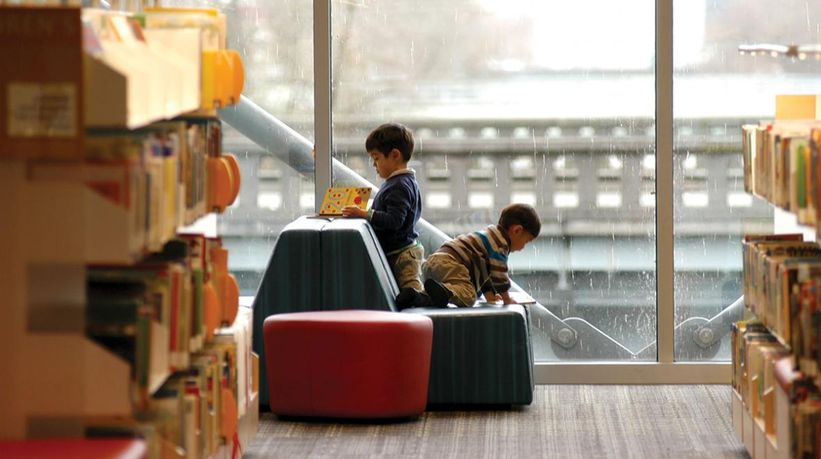 Renton Library: amazing destination libraries for families around Puget Sound