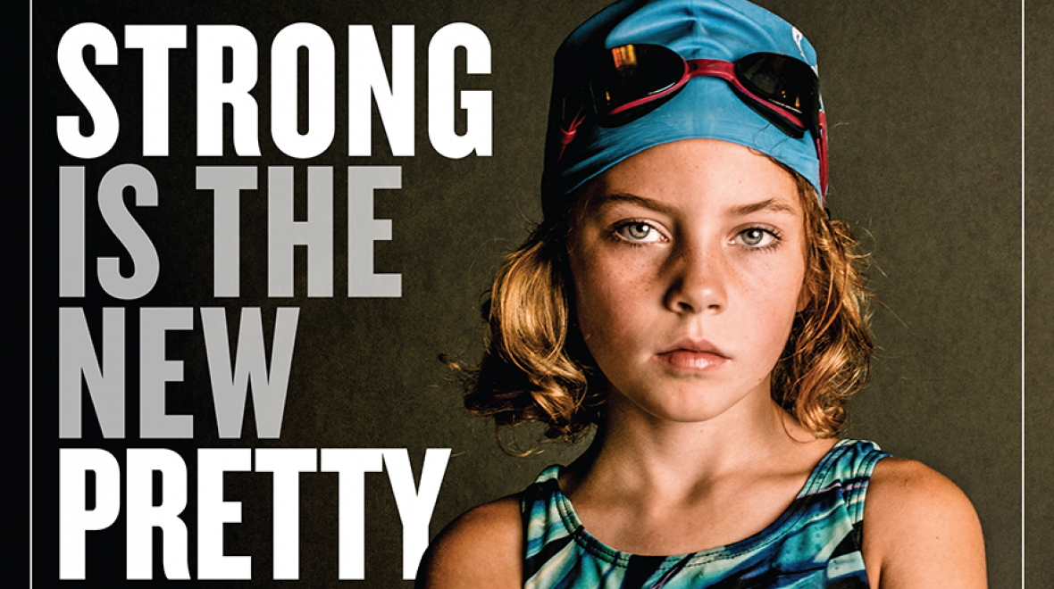 """Strong Is the New Pretty"" cover"