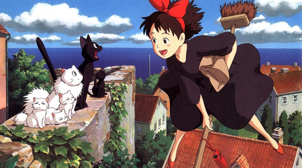 "Still from ""Kiki's Delivery Service"""