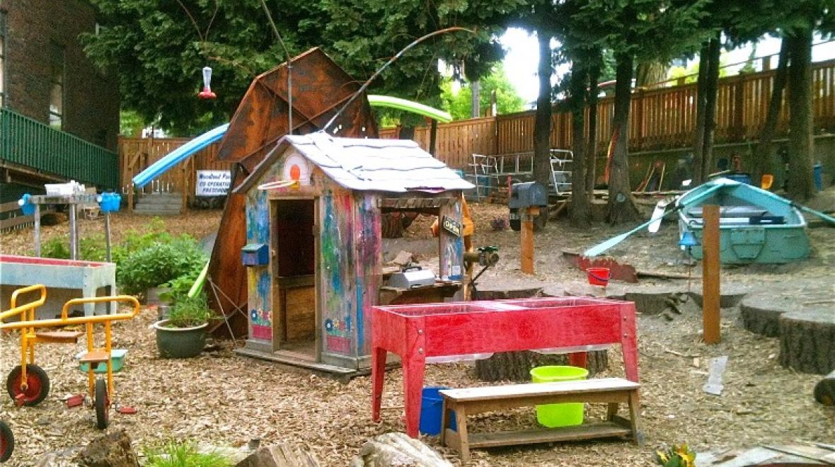 How To Make Your Own State Of The Art Backyard Playground