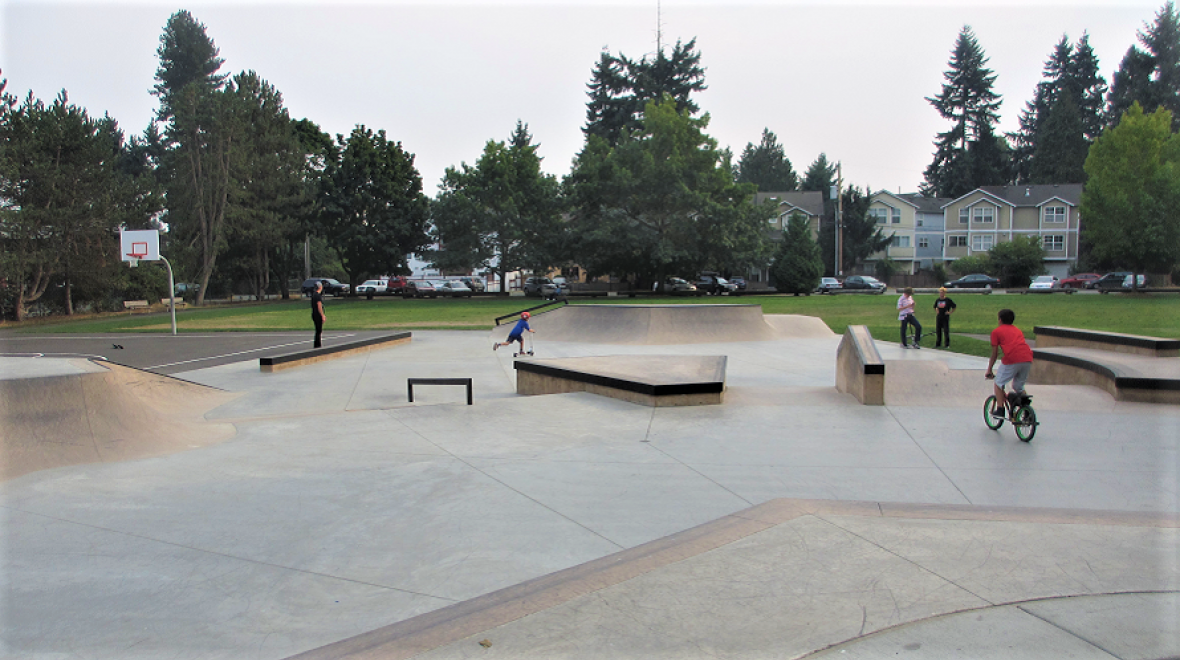 Lake City Skatespot at Virgil Flaim Park
