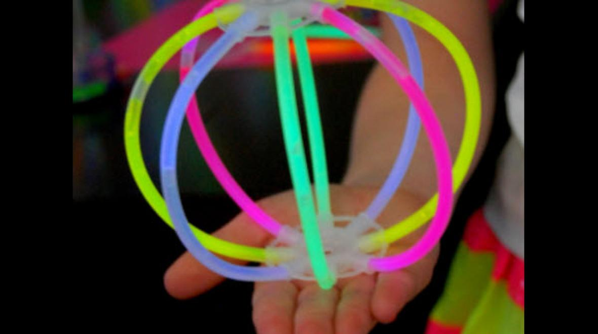 Glow stick sphere
