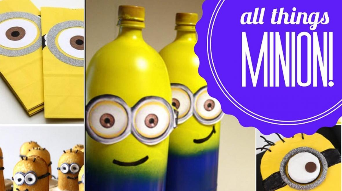 16 birthday party ideas featuring minions