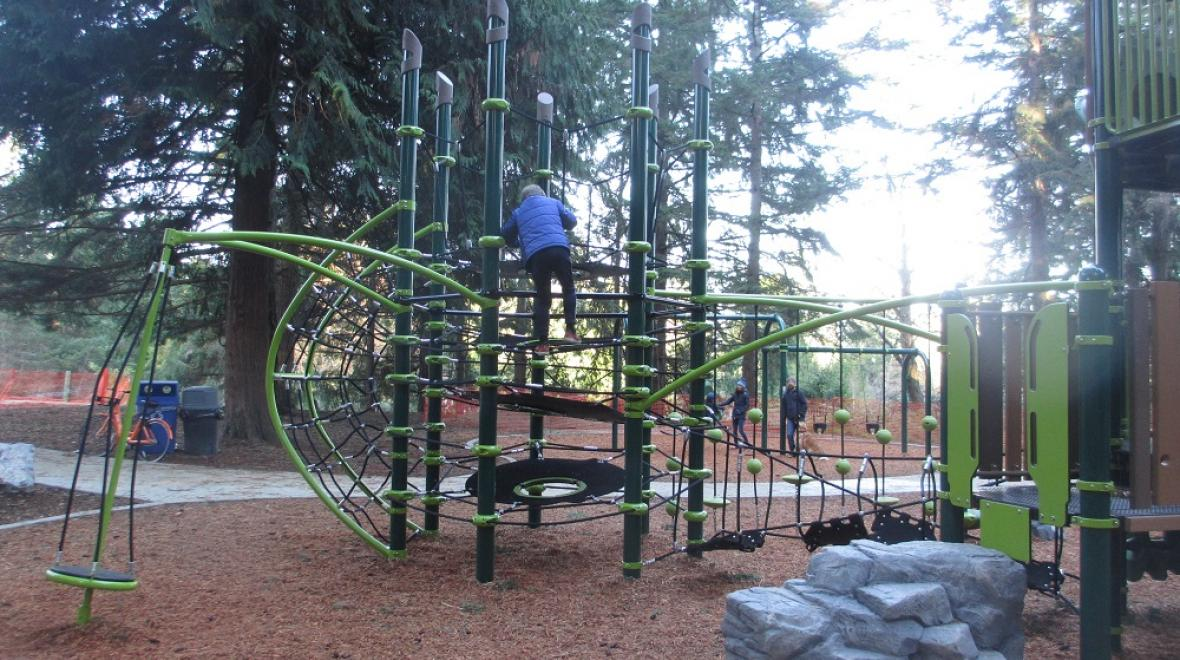Discovery Park new playground