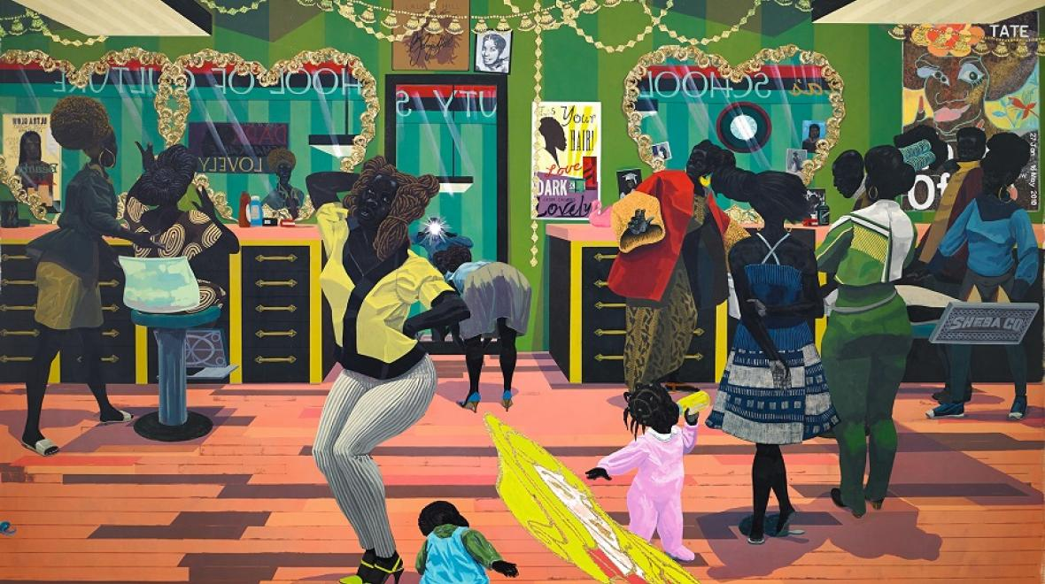 Marshall School of Beauty by Kerry James Marshall