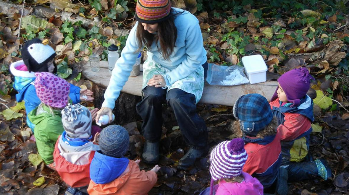 Outdoor and Nature-Based Preschools in Seattle, the Eastside