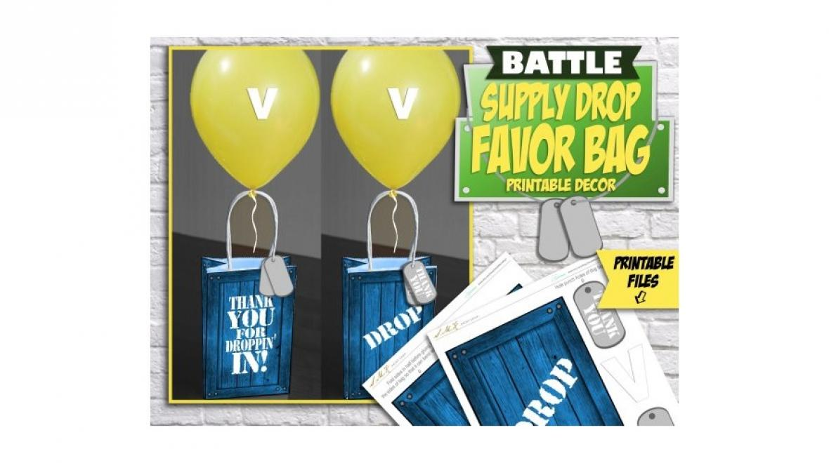 Supply drop bags