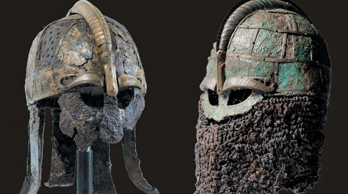 viking helmets exhibit