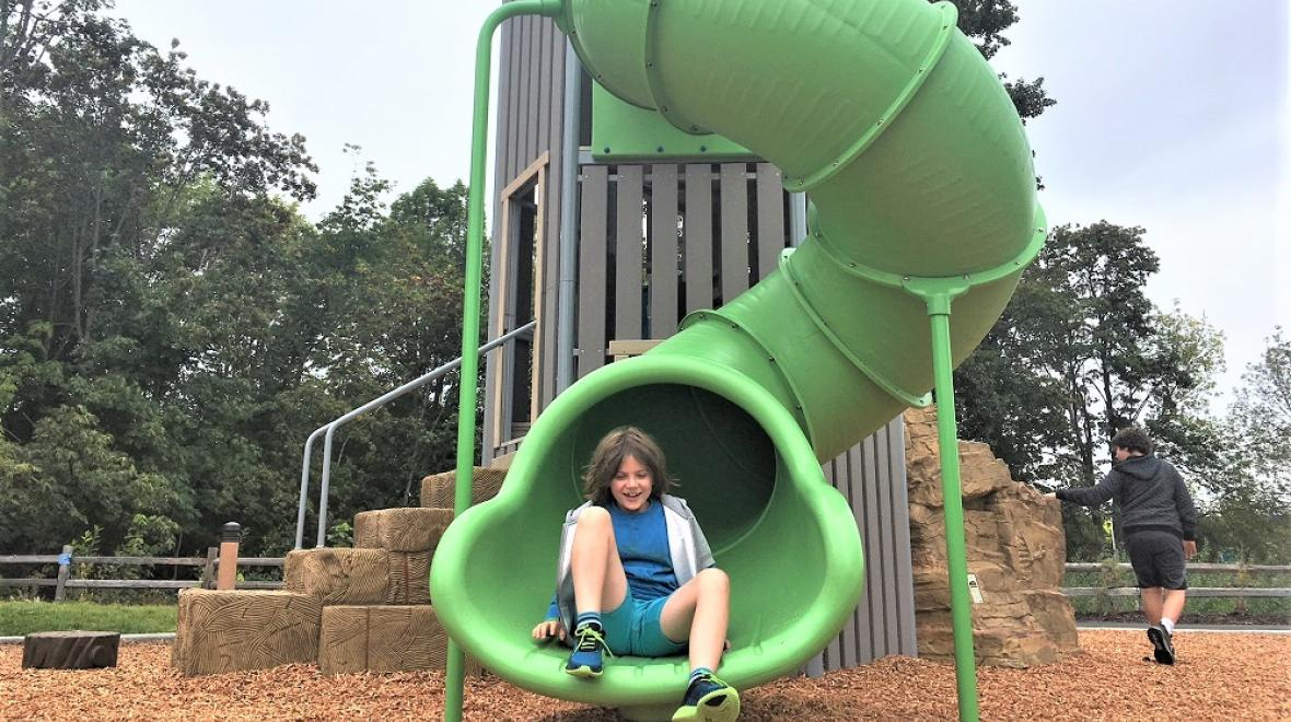 new Brookville gardens community park Fife for families