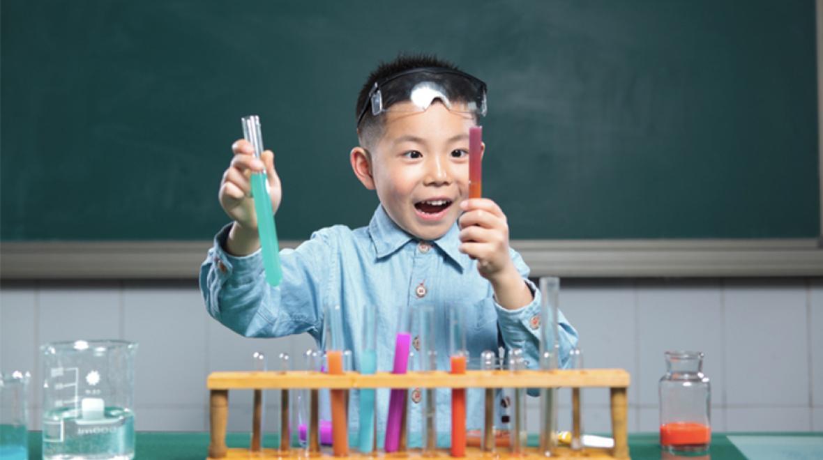 Image result for scientist kids