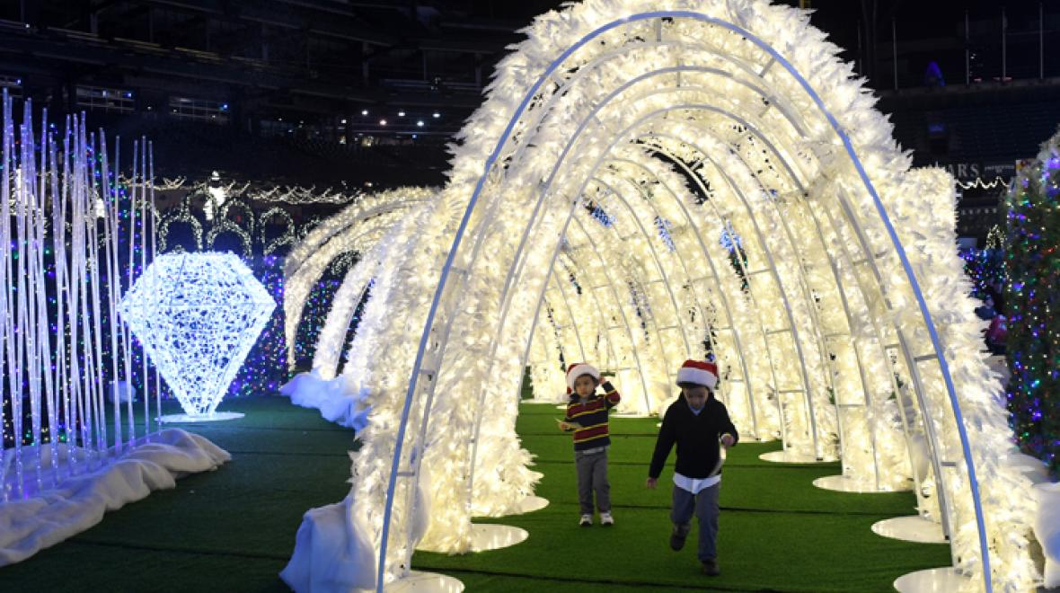 Enchant Christmas at Safeco Field: Should you take the kids?