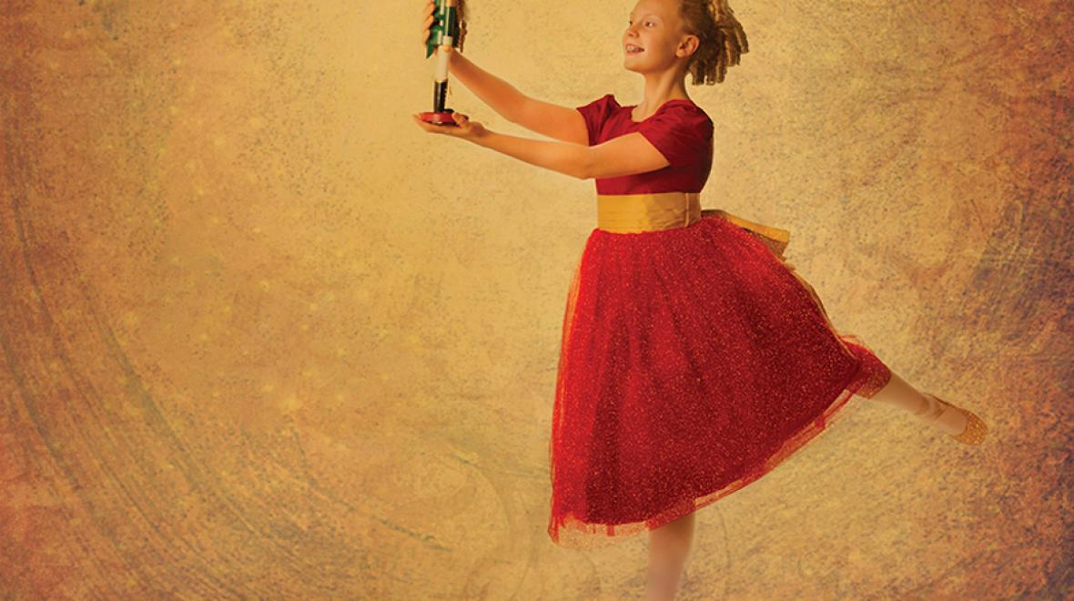 nutcracker holiday ballerina