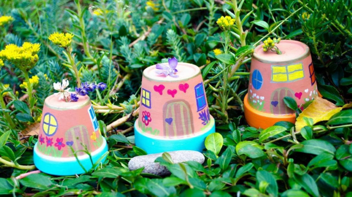Flower Pot Houses