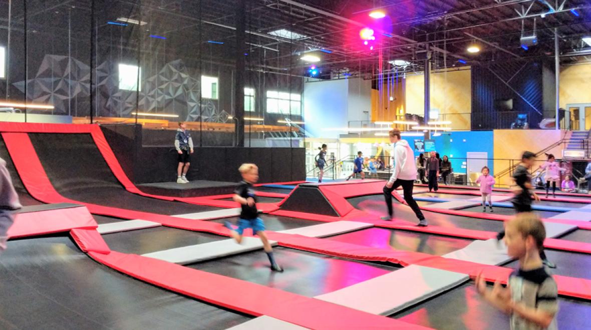 Vertex Arena Trampoline And Adventure For Eastside Area