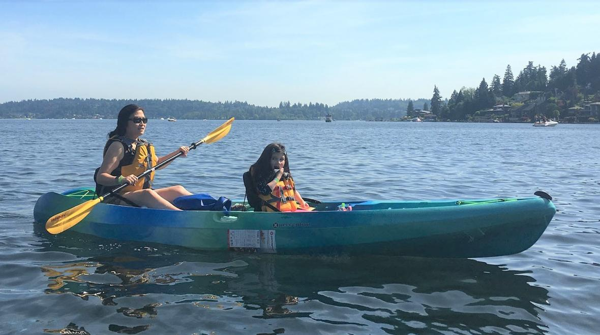 New-REI-boathouses-Bellevue-family-fun-with-kids-boating-water-Lake-Washington