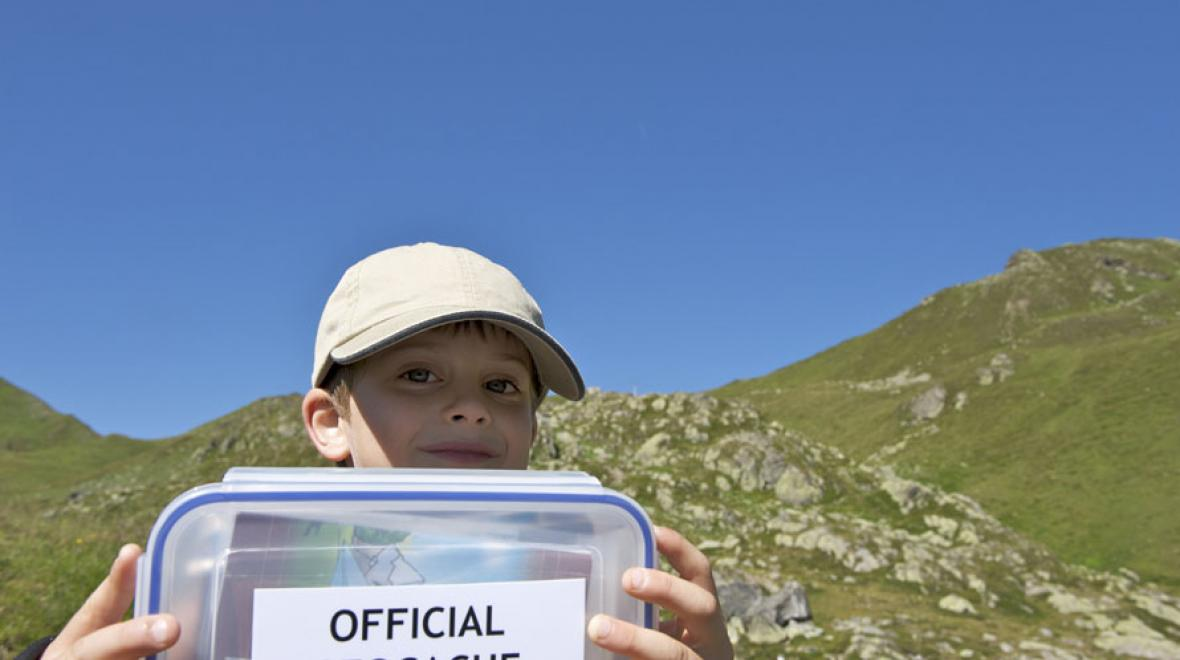geocaching kid