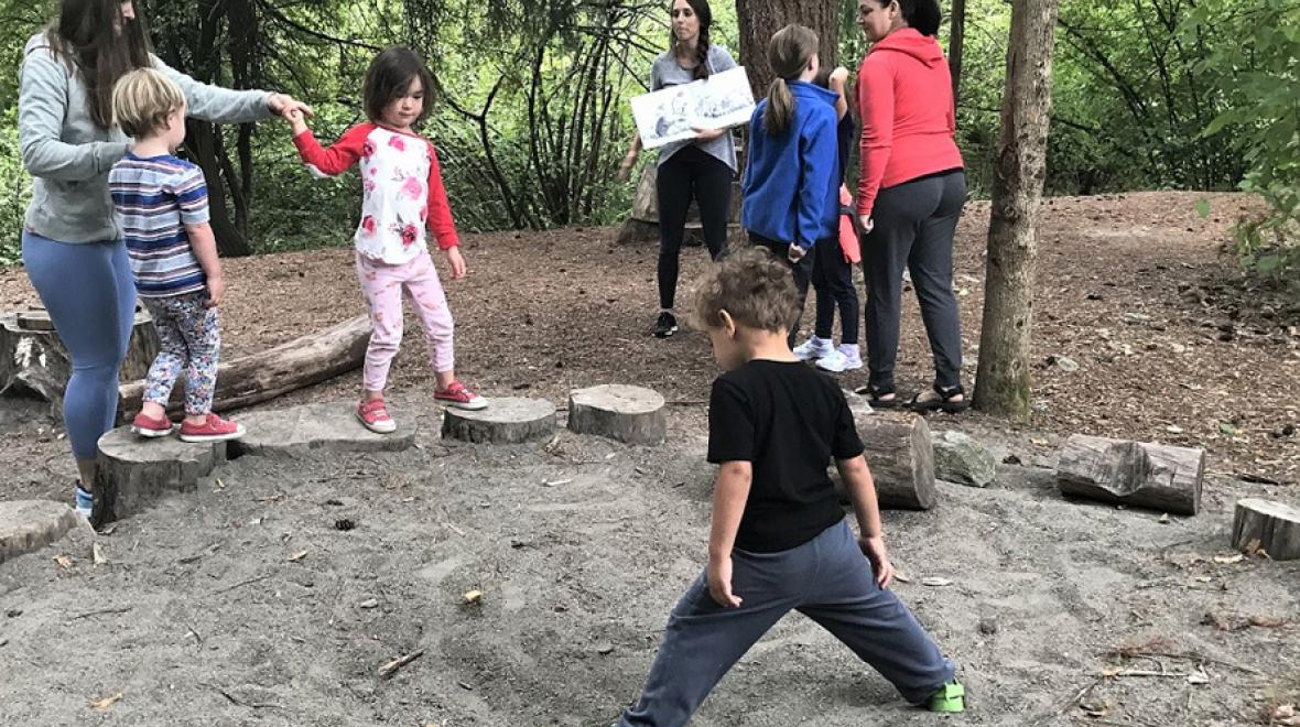 Yoga-Wild-fun-active-accessible-programs-south-sound-families-tacoma-nature-center