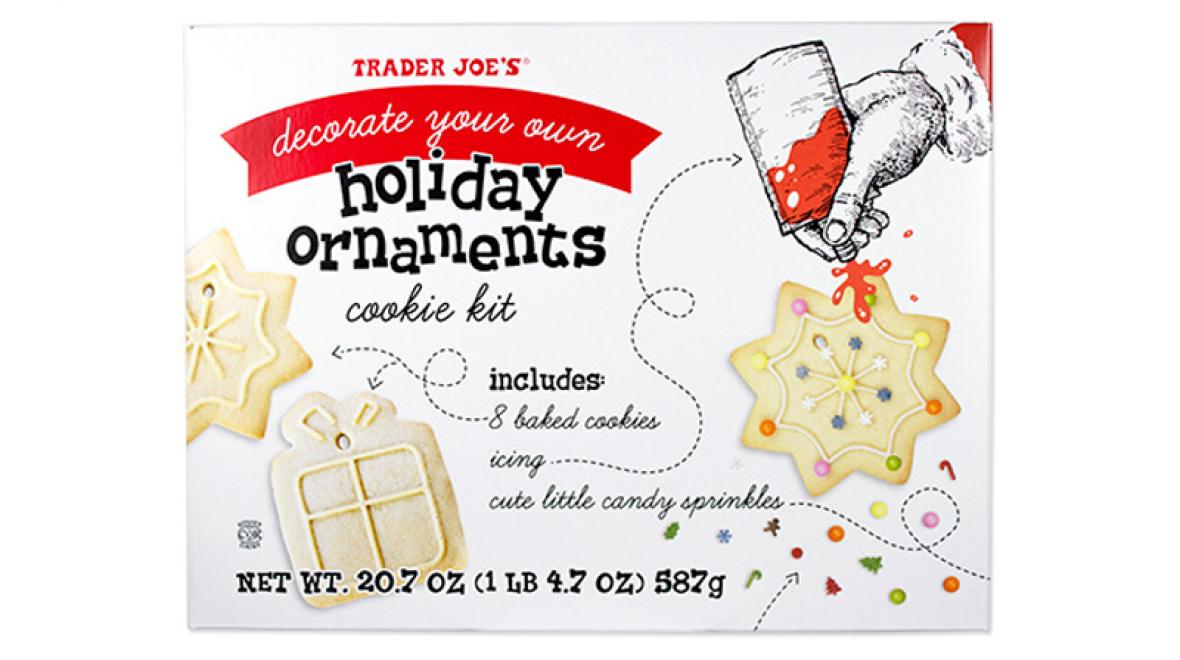 Decorate Your Own Holiday Ornaments Cookie Kit