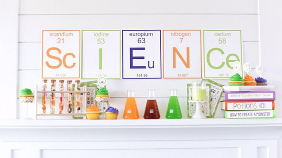 science printable banner