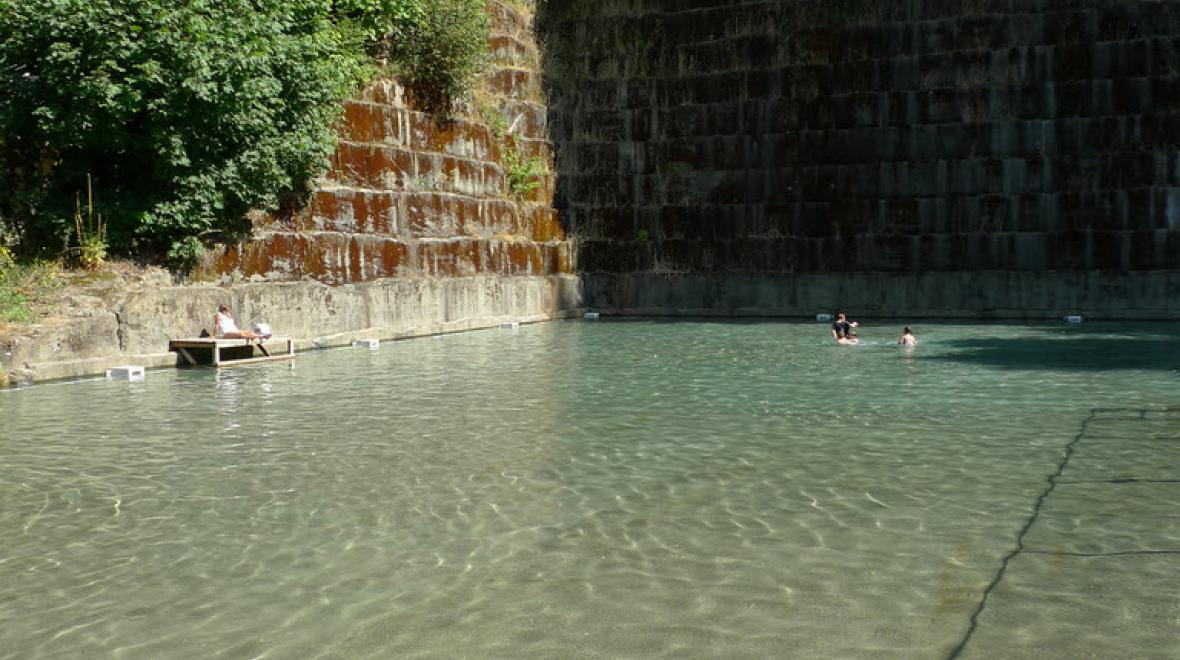 tenino quarry pool washington shallow end credit tom byrne flickr cc